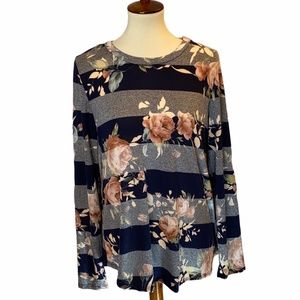 12 PM by Mon Ami Floral Top